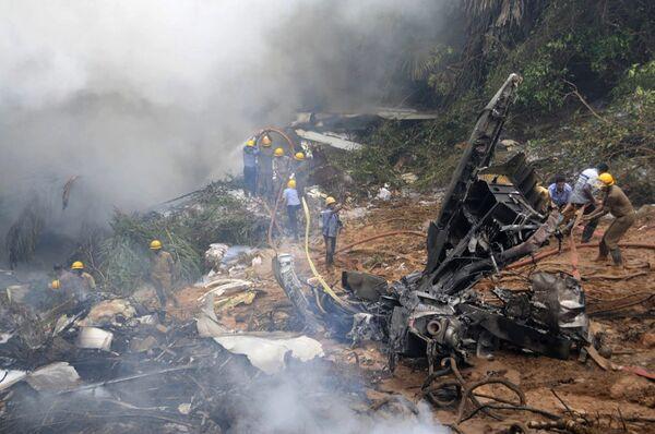 Крушение самолета Air India в Мангалоре