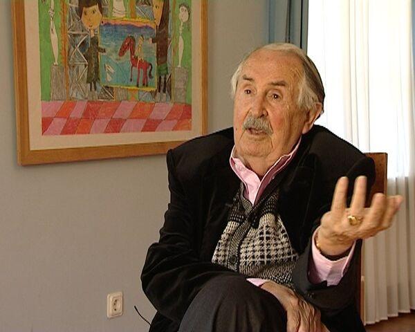 Итальянский художник Тонино Гуэрра признался в любви городу на Неве