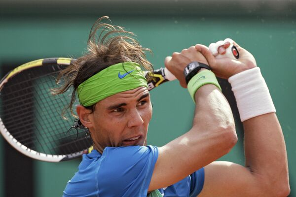 Теннис. Ролан Гаррос-2010. Рафаэль Надаль - Джанни Мина