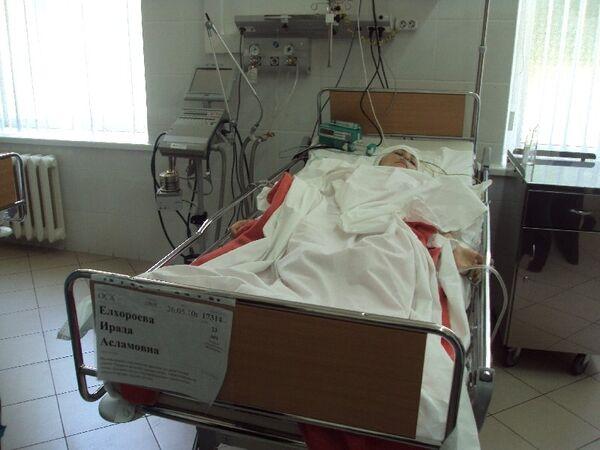 Елхороева Ирада Асламовна - пострадавшая при взрыве в Ставрополе