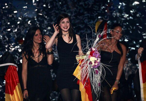 Певица Лена из Германии победила на конкурсе Евровидение-2010