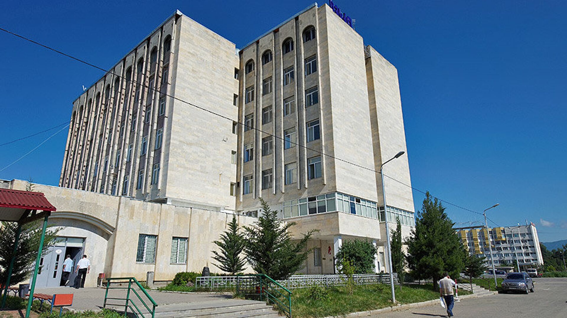 Здание ЦИК Грузии - РИА Новости, 1920, 01.11.2020