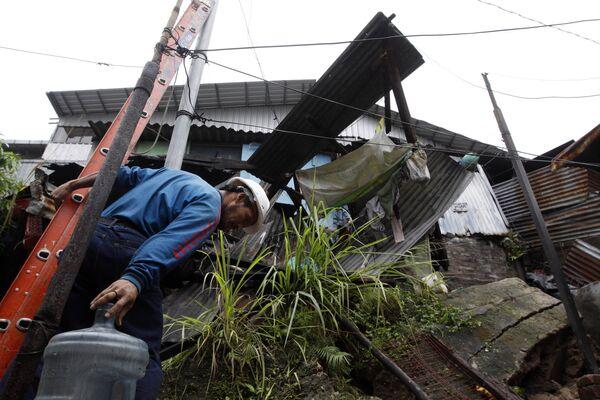 Последствия шторма Агата в Сальвадоре