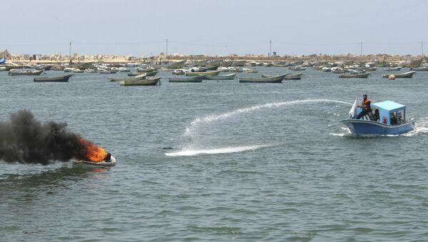 ВМС Израиля атаковали суда с гуманитарным грузом для сектора Газа