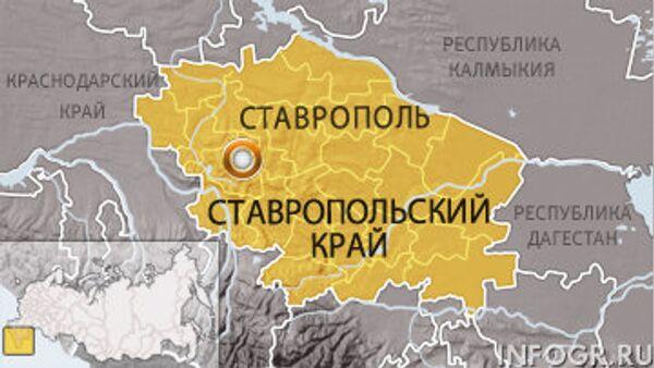 Ставрополь. Карта