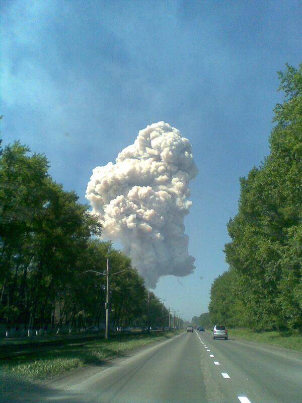 Взрыв произошел в среду в цехе дробления ферросплавного завода в Новокузнецке