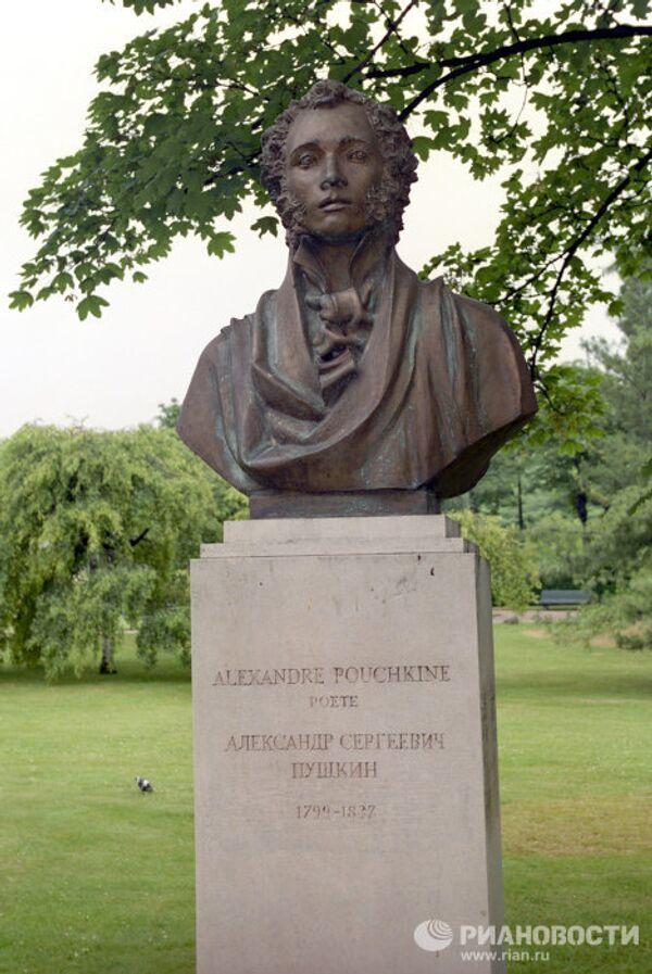 Памятник А.С. Пушкину в Париже