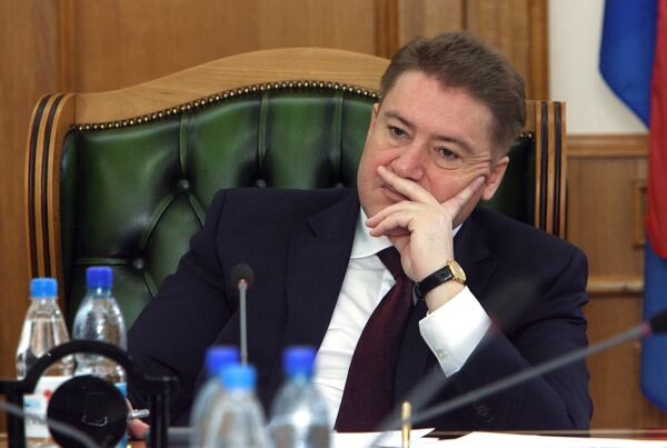 Калининградский экс-губернатор Георгий Боос, чьи полномочия официально истекли 27 сентября.