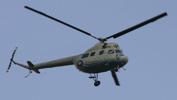 Вертолет МИ-2. Архив.