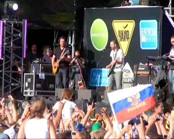 Российские рокеры и Deep Purple отметили День России под Самарой