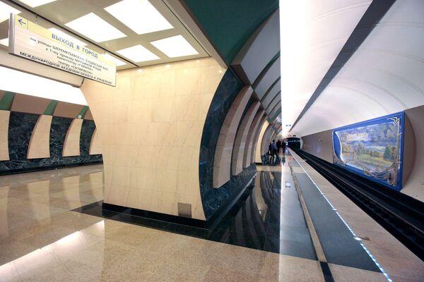 Открытие станций метро Достоевская и Марьина Роща в Москве