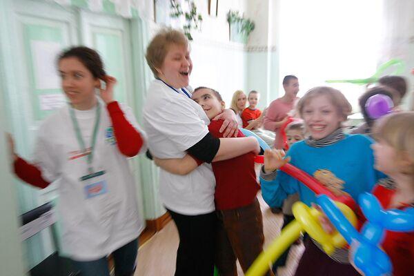 Волонтеры занимаются этой деятельностью в свободное от работы время