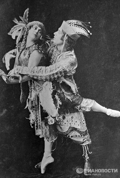 Сцена из балета Стравинского «Жар-птица»