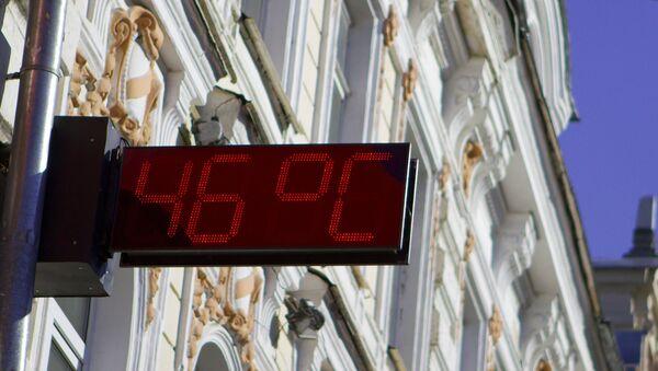 Уличный термометр. Архив