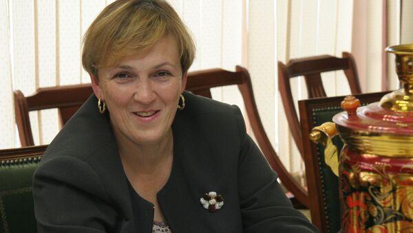 Руководитель Департамента экономической политики и развития Москвы Марина Оглоблина