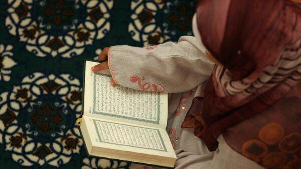 Молитва мусульманки