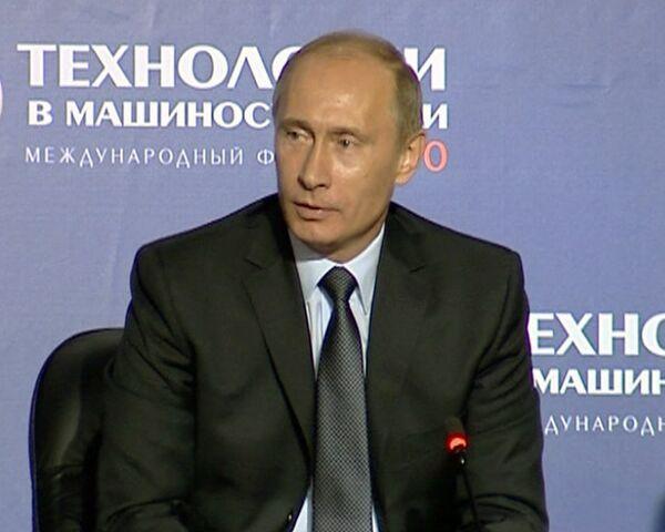Россия не собирается заниматься кражей технологий других стран – Путин