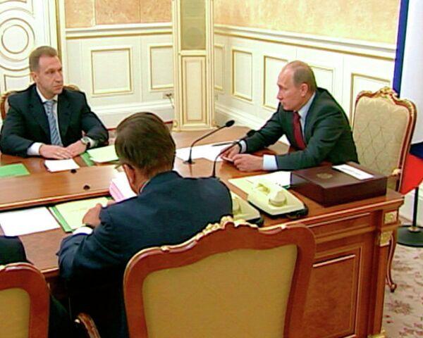 Путин потребовал разобраться с пробками на Ленинградском шоссе