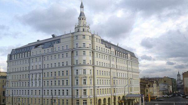 Здание гостиницы Балчуг Кемпински. Архивное фото