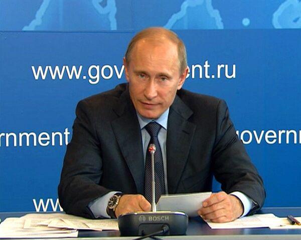 Путин: мы будем отслеживать, как аэропорты в РФ приводят в порядок