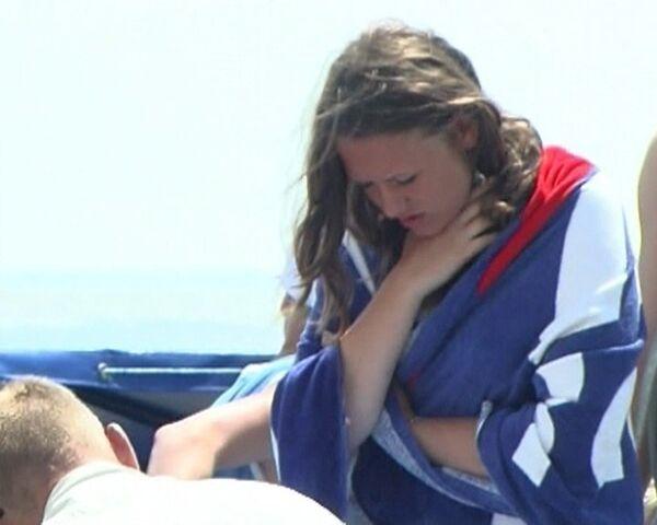 Очевидец трагедии на Азовском море рассказал, как спасал тонущих детей