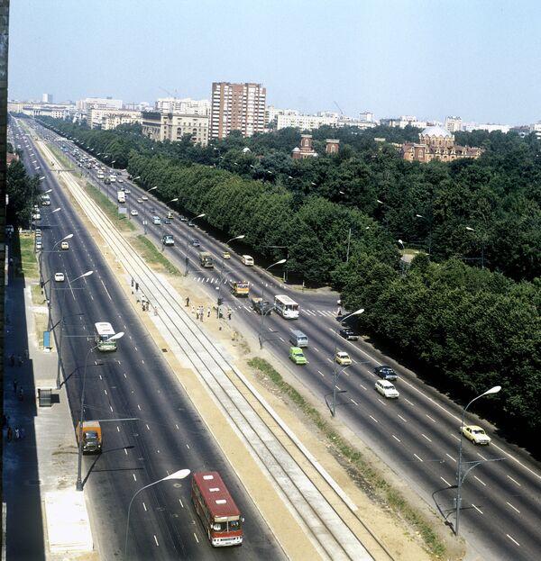 Вид Ленинградский проспект