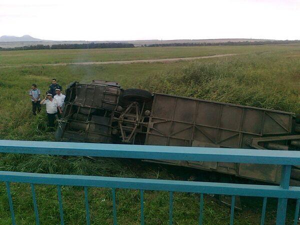 Авария автобуса в Ставропольском крае