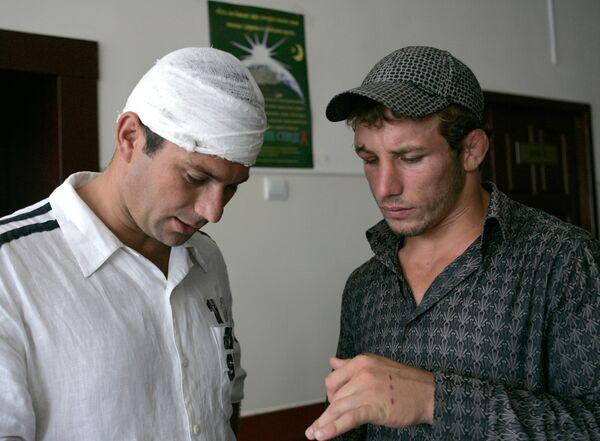 Пострадавшие в драке в детском лагере Дон в больнице Грозного