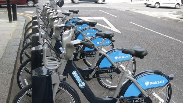 Система велосипедных парковок Barclays Cycle Hire в Лондоне