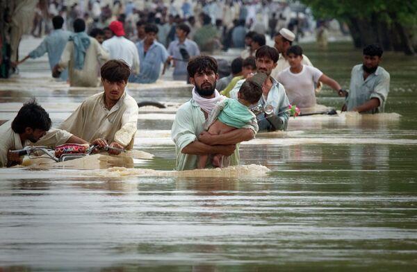 Наводнение на северо-западе Пакистана