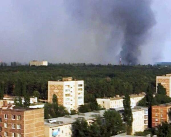 Пожары в России глазами очевидцев. 4 августа