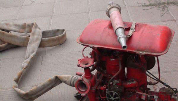 Пожарный насос. Архив