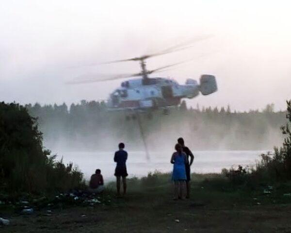 Пожары в России глазами очевидцев. 6 августа