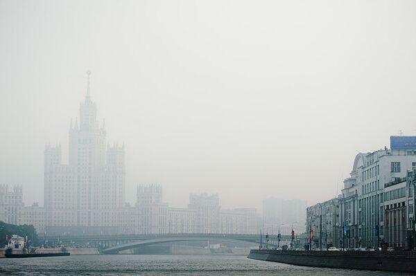 Смог в Москве в 2010 году
