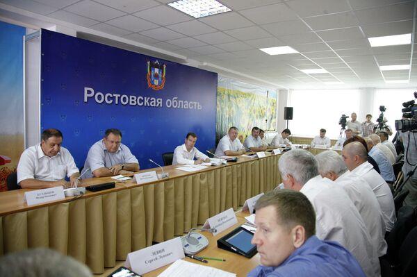 Президент РФ Д.Медведев провел совещание по зерновому рынку