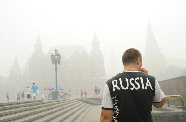 Смог в Москве
