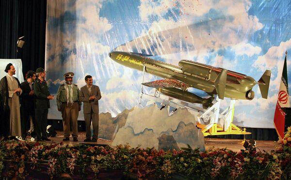 Иран продемонстрировал новый беспилотный бомбардировщик