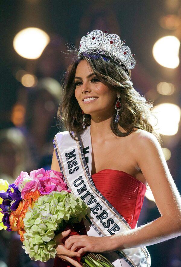 Мисс Мексика Химена Наварете стала обладательницей короны Мисс Вселенная-2010