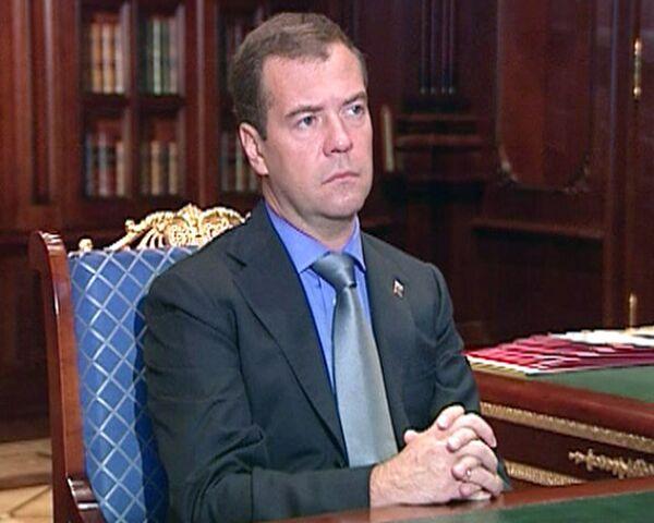 Погорельцам должен быть понятен механизм компенсации – Медведев