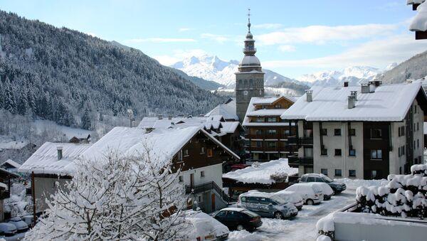 Во французских Альпах.