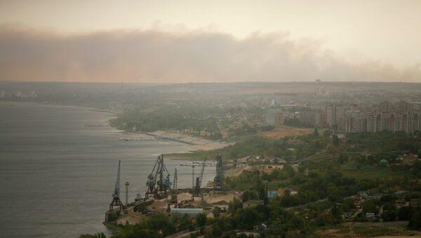 Смог над Волгоградом, архивное фото