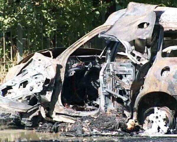 Под служебным автомобилем министра Дагестана взорвалась бомба