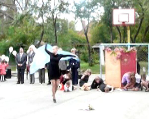 Бесланская трагедия в исполнении рязанских школьников длилась пять минут