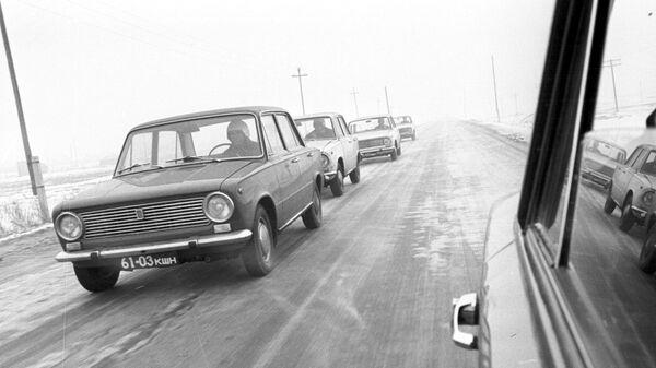 Испытания легковых автомашин ВАЗ-2101