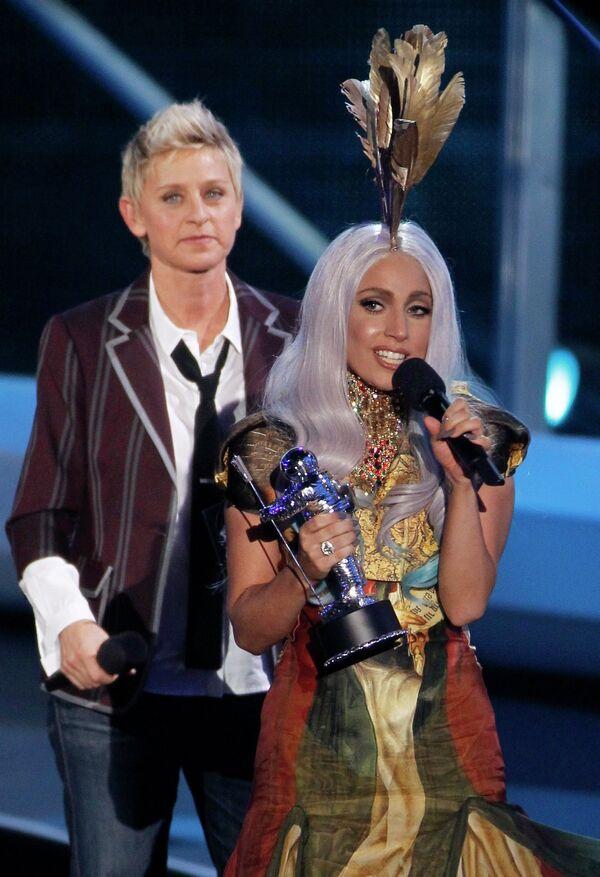 Леди Гага стала победительницей в номаниции Лучшее женское видео года на премии MTV