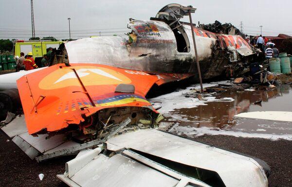 Авиакатастрофа в Венесуэле