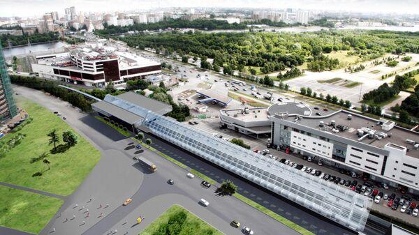 Проект делового квартала Nagatino i-land