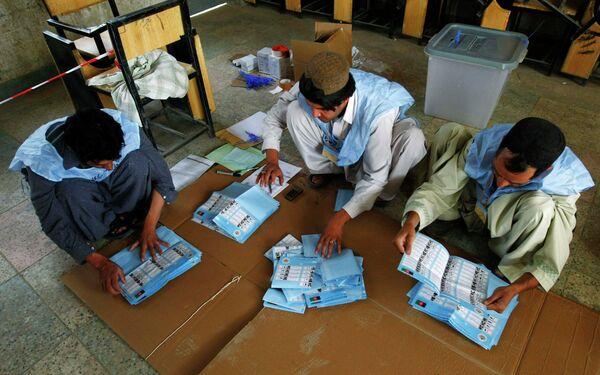 Парламентские выборы состоялись в Афганистане