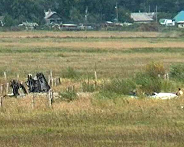 Истребитель Су-27 разбился в свой первый после ремонта полет