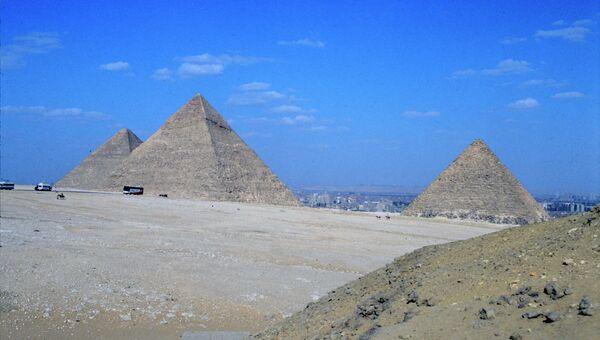 Пирамиды - наследие фараонов. Архивное фото